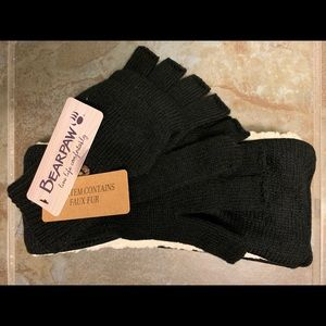 Bearpaw head warmer & gloves